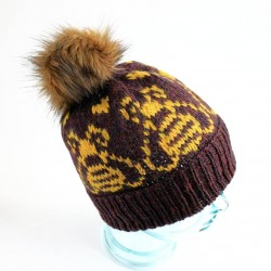 Save the Bees Knitted Toque